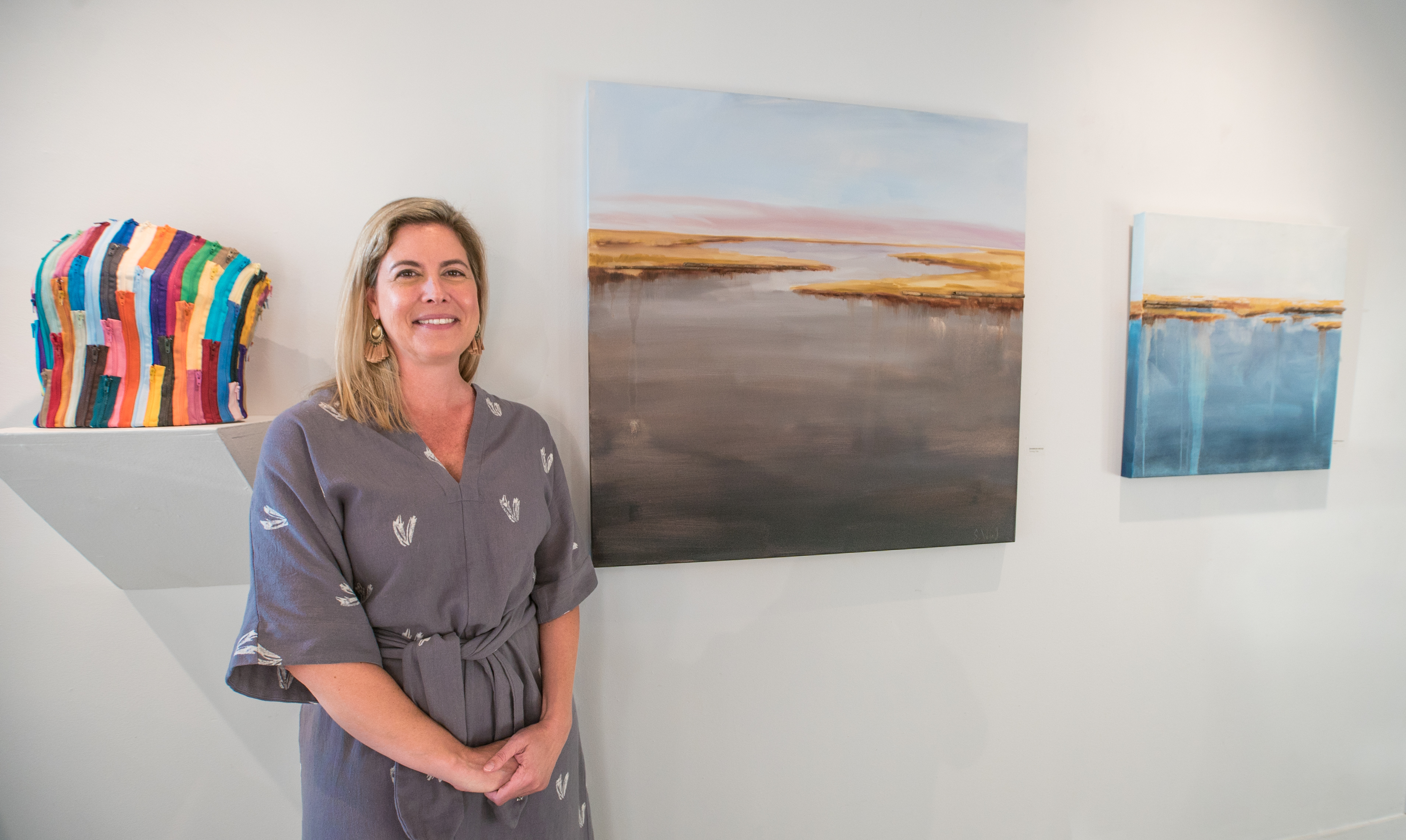 Shannon Wood and her marshscapes