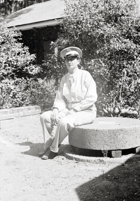 Belle volunteered for U.S. Naval Intelligence as a coastal observer from 1942 to '44, looking out for U-boats along the Hobcaw coastline.