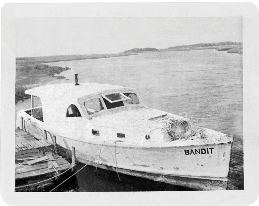 ... aboard his boats, Bandit and later Bandit II, in the waters off Jacksonville. After Gerald died from a heart attack while at sea, Mark joined his older brother, Michael, aboard the Bandit II, working the North Carolina coast.