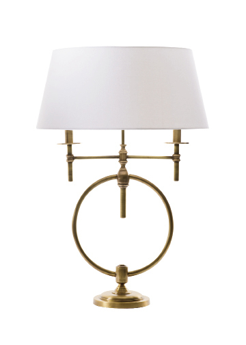 """""""Anello"""" lamp, $398, at Amen Domestics"""