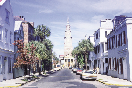 Church Street in the 1970s
