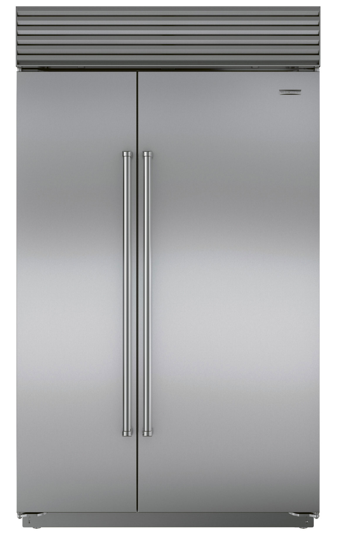 Sub-Zero  side-by-side  refrigerator, $10,599,  at Ferguson Bath, Kitchen, & Lighting Gallery