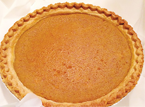 """Top Dessert: """"Sweet potato pie served warm with ice cream on top. Oh, yeah! We started making them during holidays, but people always ask for it, so we make them year-round."""" —Nate"""