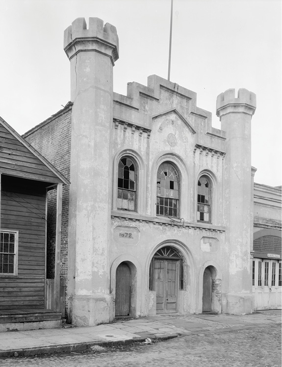 Several fire houses originally built for volunteer companies, including the German Fire Company at 8 Chalmers, went into service for the Charleston Fire Department in 1882.