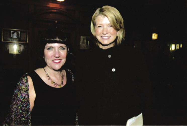 "Her stint as co-CEO of Martha Stewart Living Omnimedia was after Stewart's incarceration, and Millard (shown here with Stewart at the American Advertising Federation Awards gala in 2006) welcomed the challenge. ""I love a hair ball,"" she says. ""Hmmm, how to manage a brand when your brand goes to jail, now there's a good one!"""