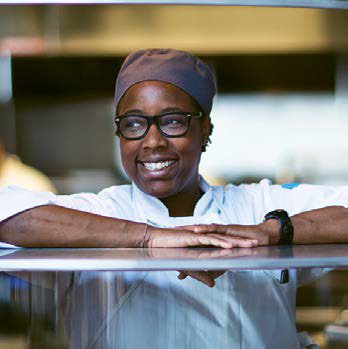 Mashama Bailey, executive chef and partner of The Grey in Savannah, Georgia