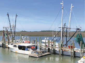 """Freshest Catch: """"Best days to go to Crosby's Seafood are when 'The boat is in' sign is up. It means their fishing boat just got back."""""""