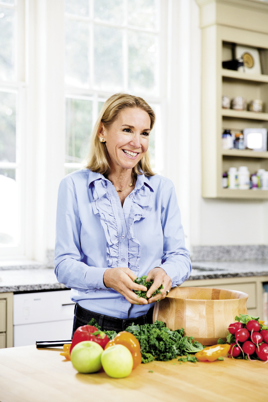 """""""I grew up with Southern food, and I love it,"""" notes Dr. Ann. """"Sure, there are some culturally entrenched habits that aren't good for us, but lots of traditional Southern foods are excellent super foods. It just depends on how you prepare them."""""""