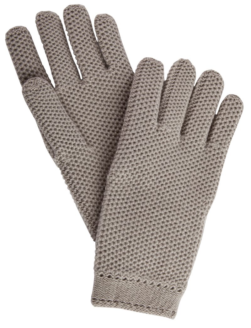 Loro Piana knitted cashmere gloves, $325 at Gwynn's of Mount Pleasant