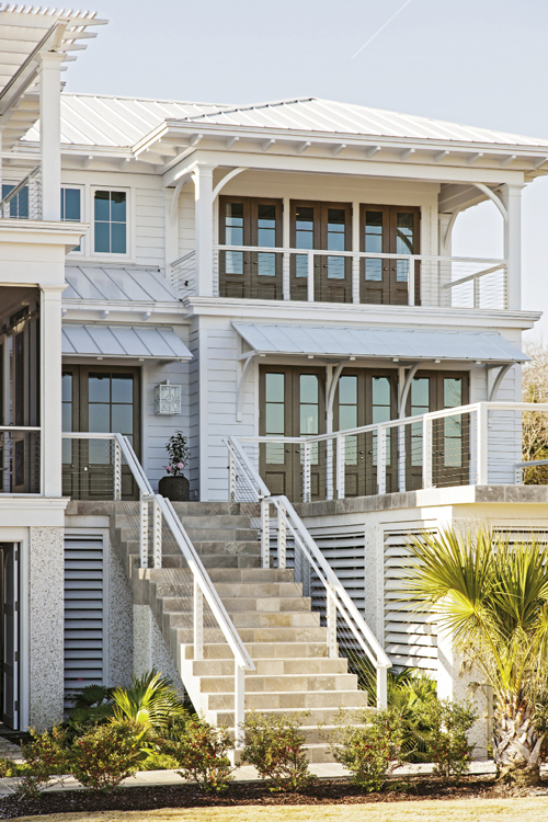 Windows to the Soul: Glass panels and porches galore bring the landscape indoors.