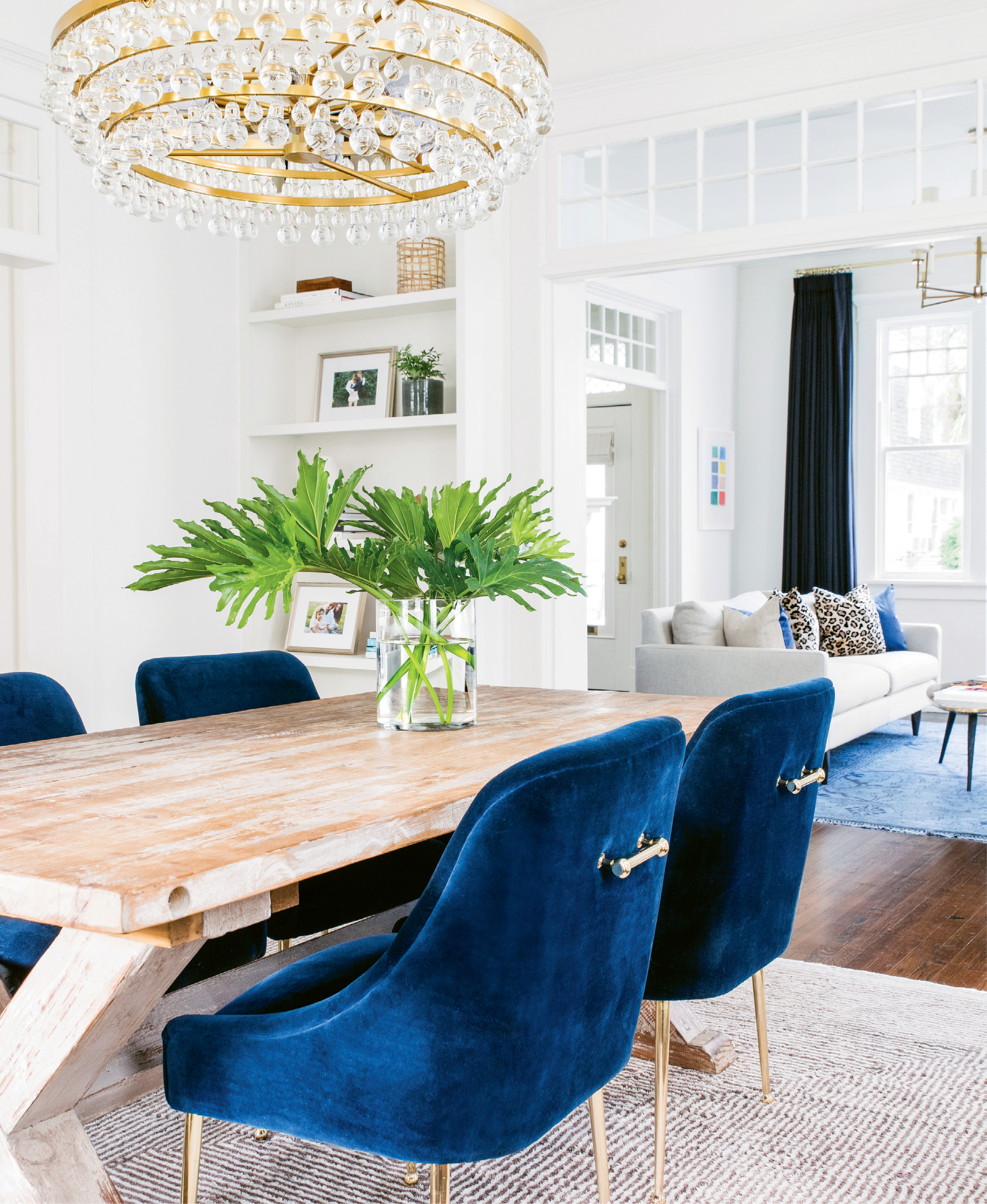 Lived-in Luxe - Alison and Parker Green's century-old home holds an eclectic mix of fab and functional furnishings in lieu of highbrow antiques—a perfect fit for a young family of four