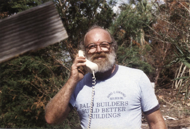 "Like many other residents who went through the storm, Thompson has maintained a land line and kept his ""Hugo phone"" —just in case."