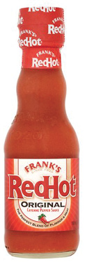 "Choice Condiment ""Frank's hot sauce is my favorite 'ingredient.' I put it on everything—whether it needs it or not!"""