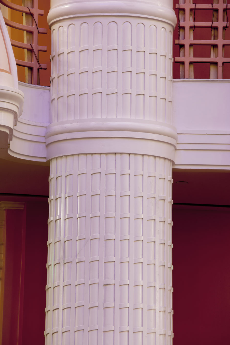 ... as well as the column designs.