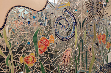 "Original Work: ""Creating large-scale mosaics was really my thing for a long time. They are all over my house."""