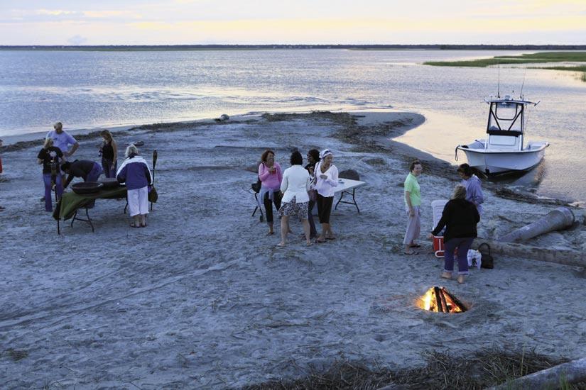 Barrier Island Eco-Tours Sunset Cruise