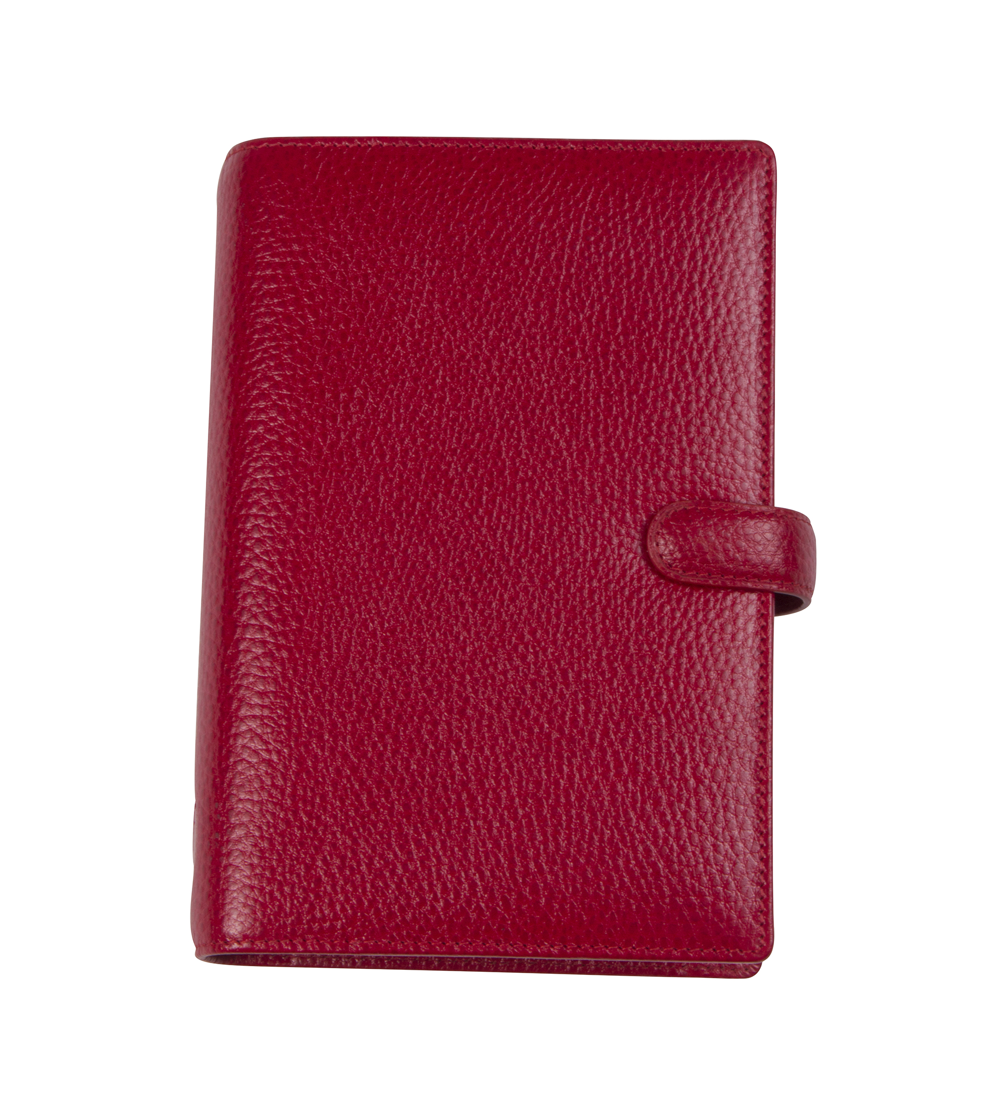 "Filofax ""Finsbury Personal Organizer"" in ""Cherry,"" $110 at The RSVP Shoppe"