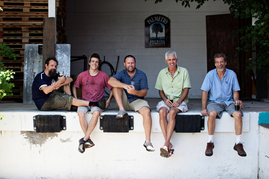 The Whole Palmetto crew:  Clint, Jesse, Chris, Louis, and Ed