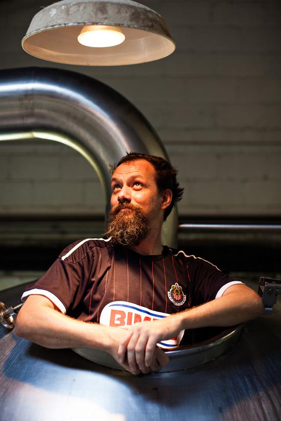 Assistant Brewer Clint Vick