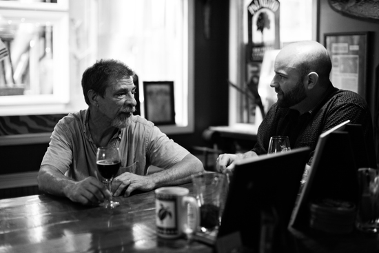 Owner and Founder Ed Falkenstein chats with Scot Shor of the Charleston Beer Exchange