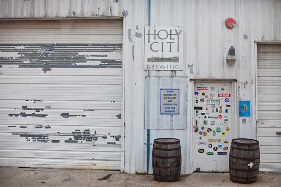 Front door of the brewery