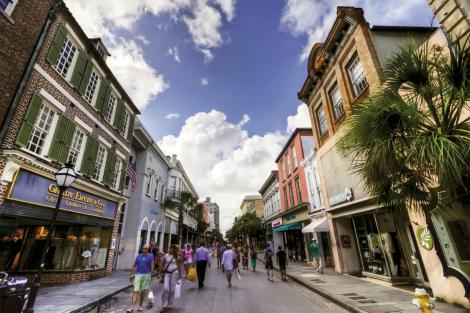 COMMUNITY: Charleston's a friendly town—so much so that we like to say it has one-and-a-half degrees of separation. Whether you're strolling King Street on Second Sunday (pictured here), hanging out in Marion Square, or doing your grocery shopping, strangers offer up a smile, and you'll likely know more than a few faces.