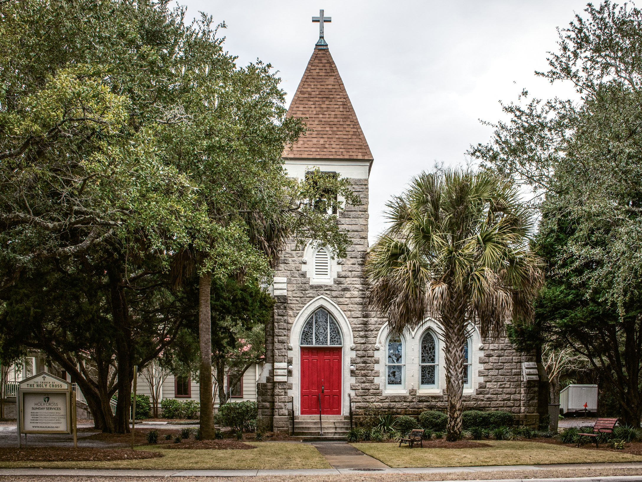 Grace Chapel (The Church of the Holy Cross), Sullivan's Island