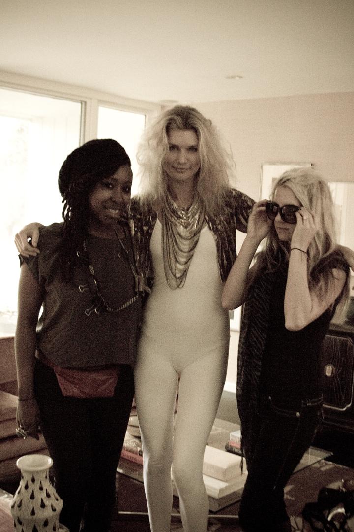 Ayoka, Annemieke & Ashley! - Photo by Jonathan Balliet