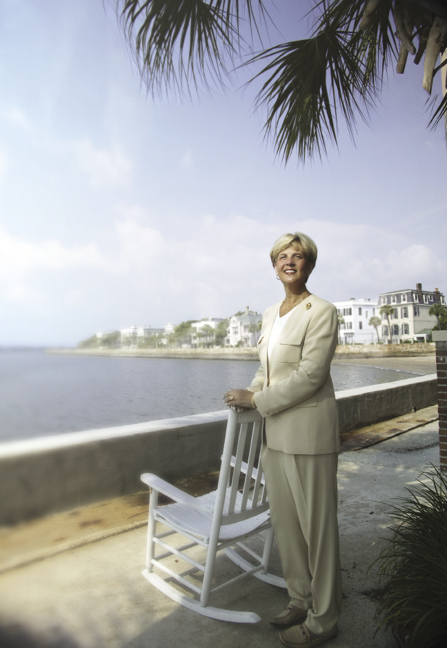 Historic Charleston Foundation director Kitty Robinson