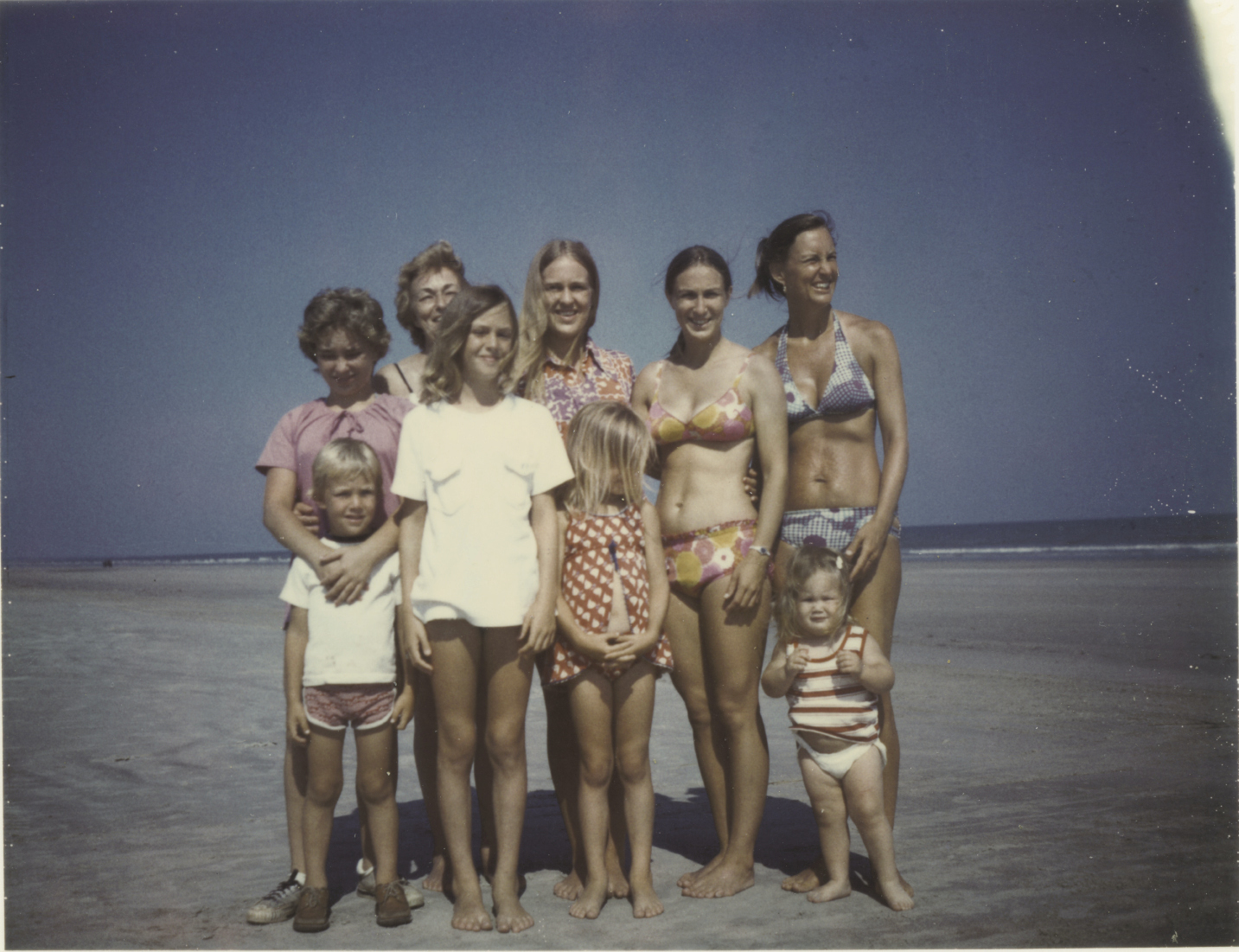 Family time on Kiawah Island, circa 1975