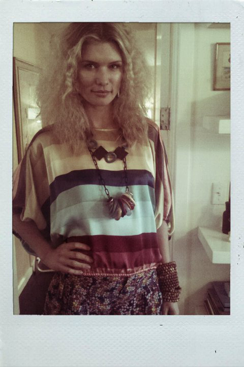 Top from Berlin's; Shorts from Thera M; Necklace by Kelly Wenner Designs; Bracelets by Fine Garnish