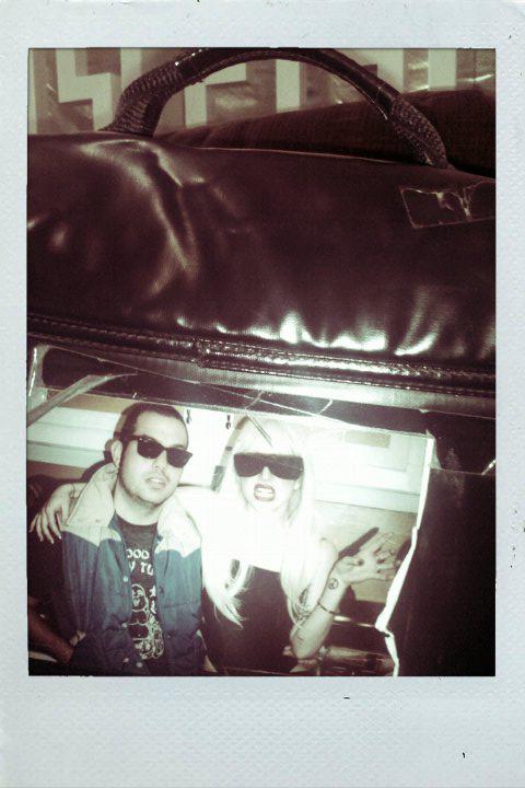 Photo Intern Jonathan Balliet with Gaga