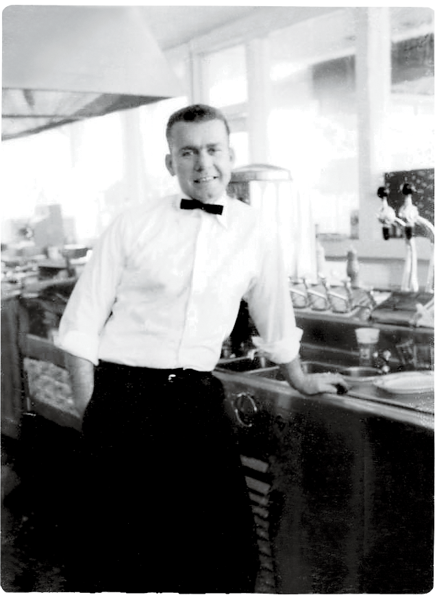 """After attending The Citadel, Melvin Bessinger, son of Holly Hill barbecue king """"Big Joe"""" Bessinger, created Piggy Park Drive-In, a popular barbecue joint on upper Rutledge Avenue"""
