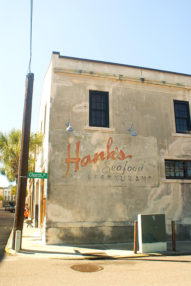 Hank's Seafood, 10 Hayne St.