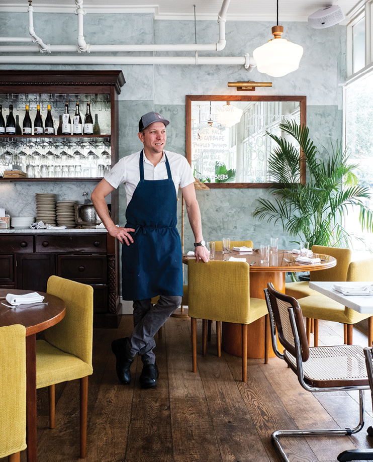 Chef Nick Wilber at The Fat Radish