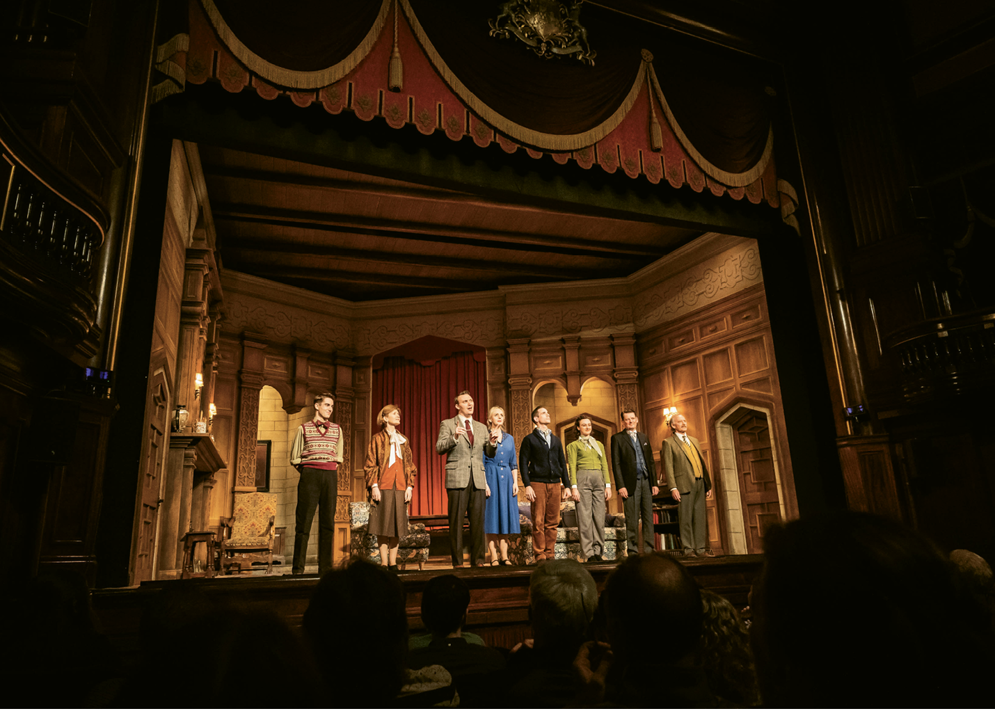 The 27,788th performance of The Mousetrap at St. Martin's Theatre