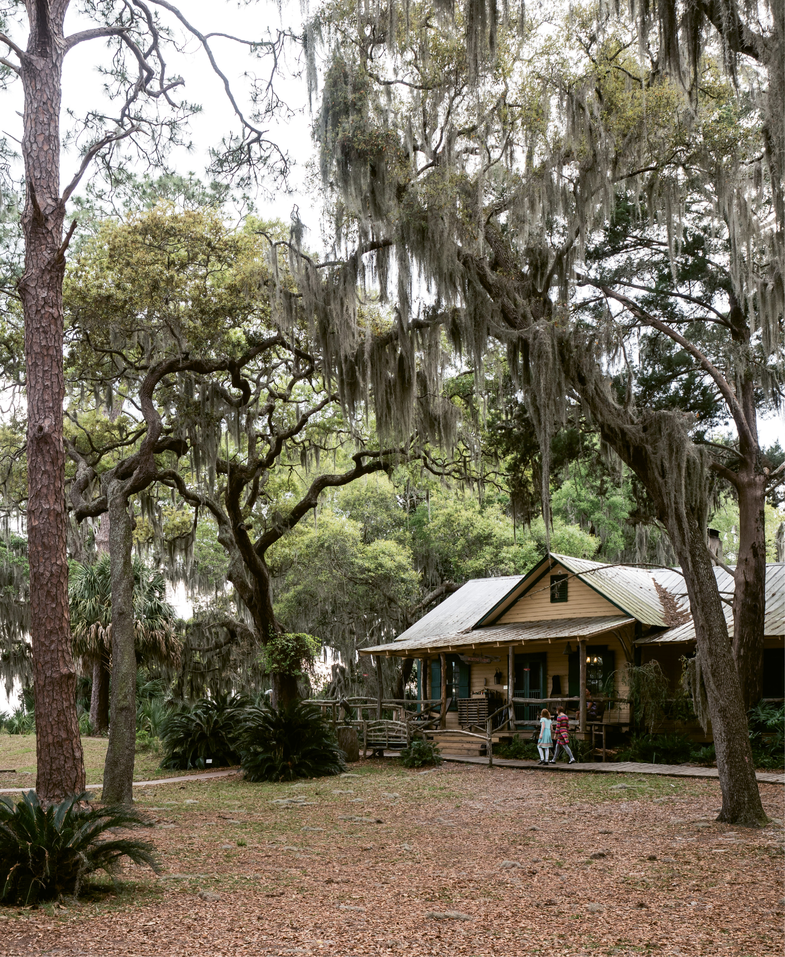 Fast ferry: It's a 15-minute boat ride to bridge-less Little St. Simons Island and the former private hunting lodge that welcomes up to 32 guests each night.