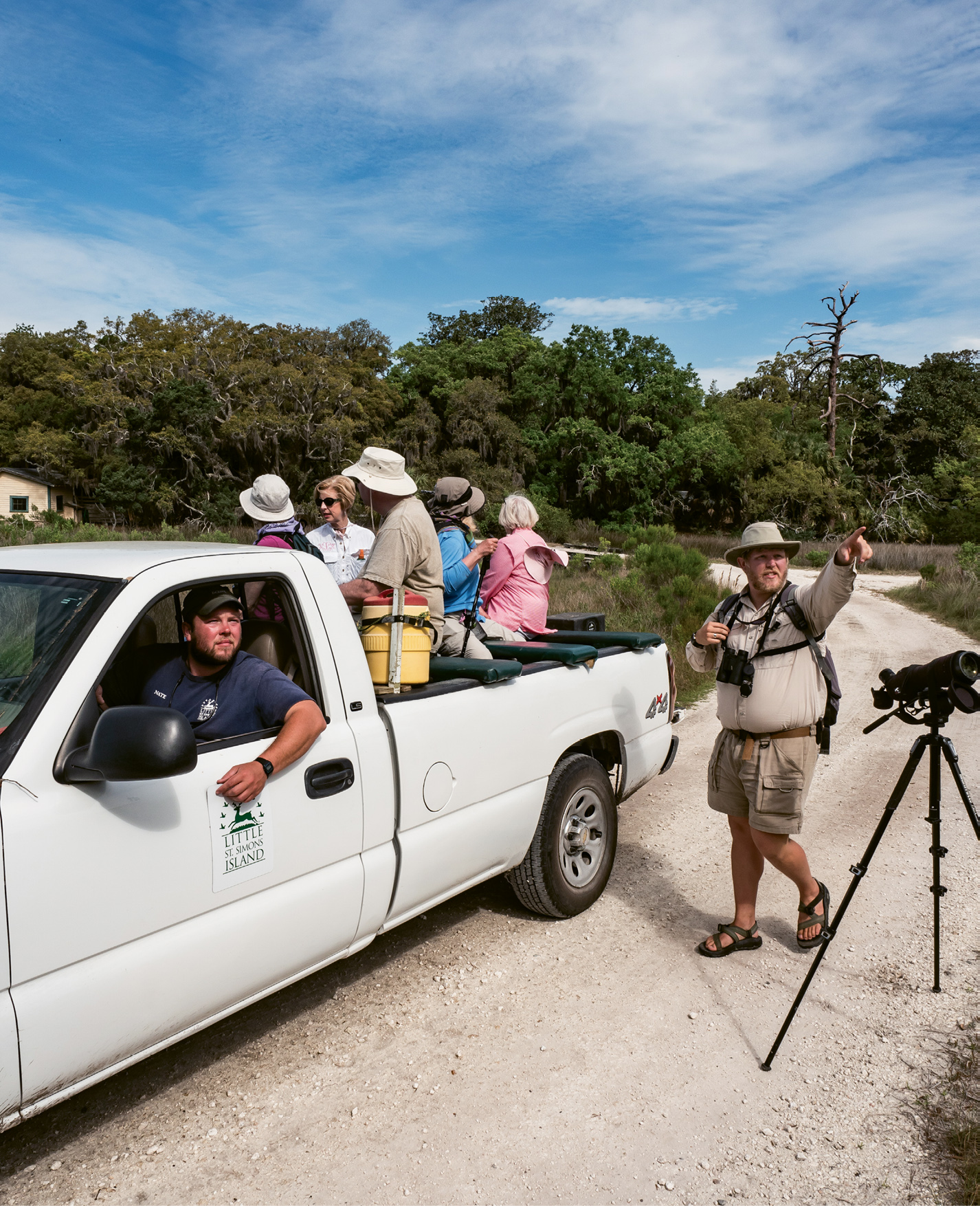Winged adventures: Naturalist-led tours are offered several times each day on Little St. Simons Island, where more than 280 bird species have been observed.