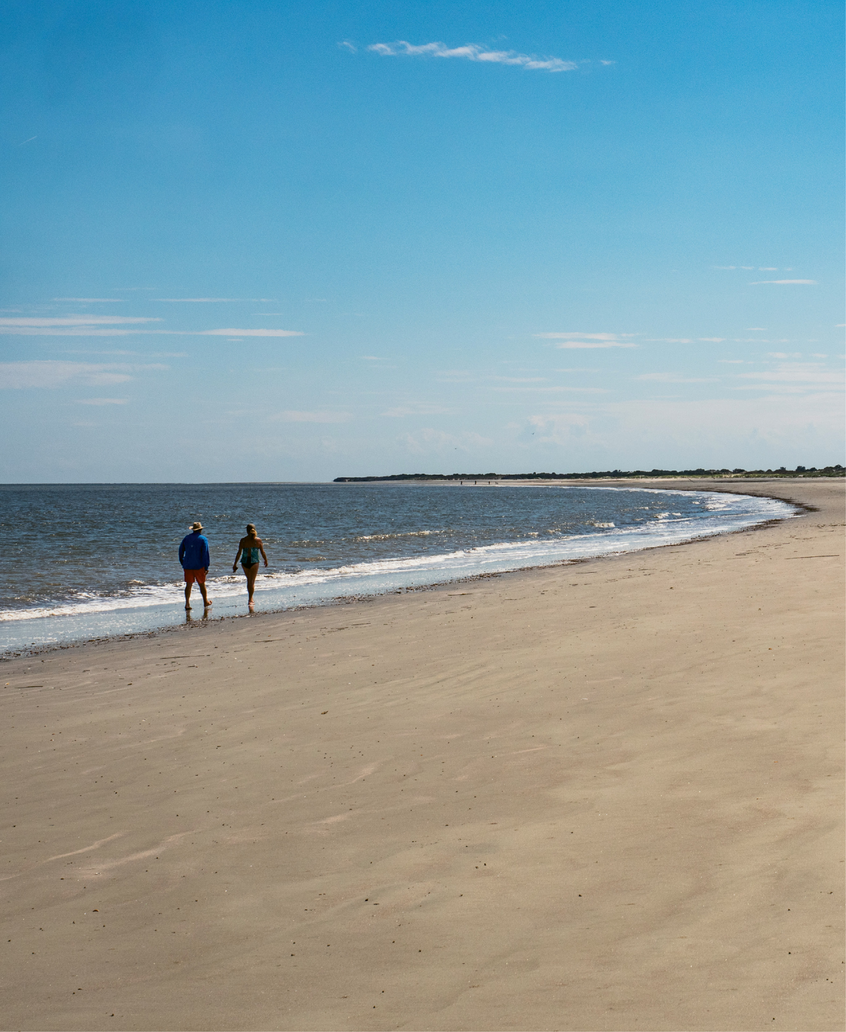 Natural wonders: The island boasts seven miles of beachfront and less than 20 developed acres centered around the original lodge.