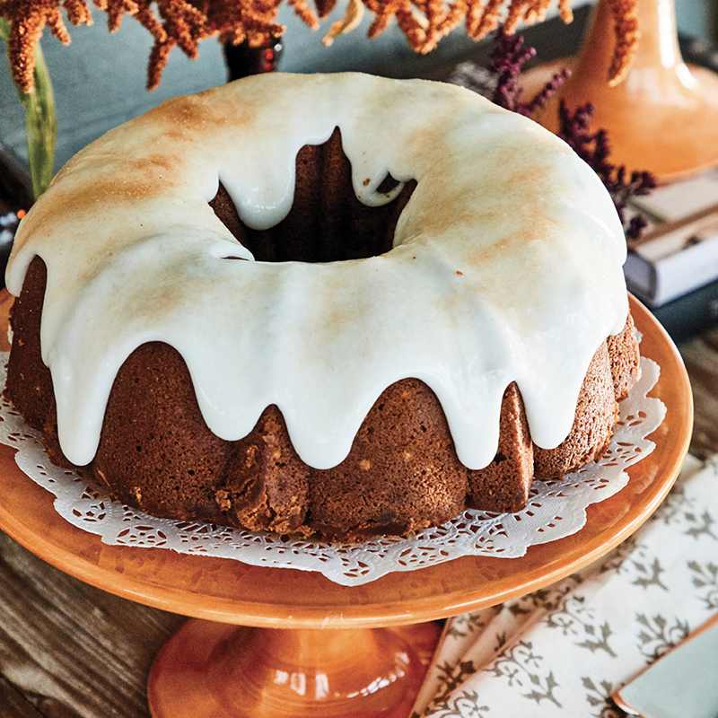 Pumpkin Bundt Cake from Pies, Cakes, & S'more
