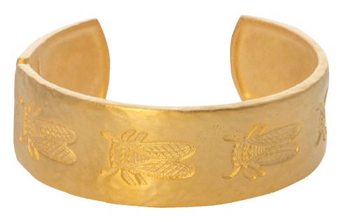 "The Goldbug Collection's ""Love Train Bracelet"""