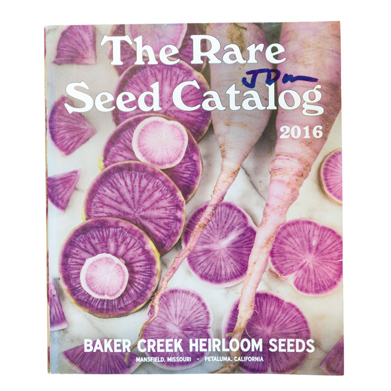 "Scintillating Seeds ""The annual catalog from Baker Creek Heirloom Seeds is the ultimate in veggie porn."""