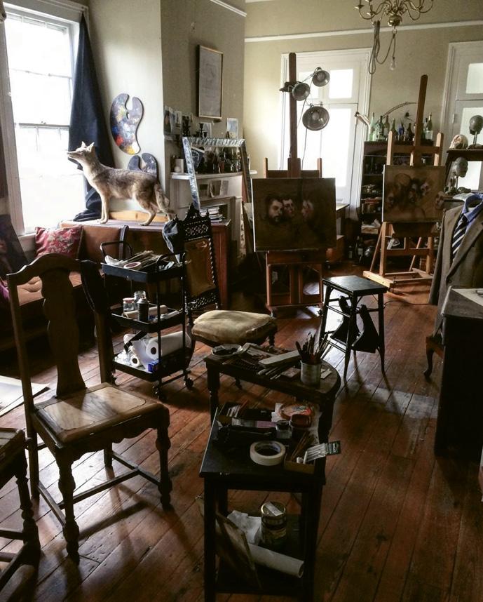 Hooper's studio