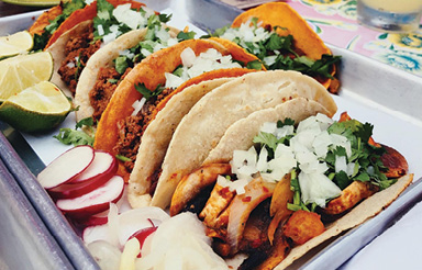 """Taco Time: """"I love finding all the cool, authentic taco spots in Charleston. So far, El Pincho's tacos are the best I've had."""""""