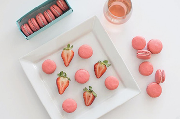 """Berry Good: """"I'm obsessed with strawberries. It's a spring ingredient that can work in a macaron, hand pie, or ice cream."""""""
