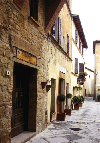 Pienza, known for its pecorino, was built atop a medieval castle in the 15th century.