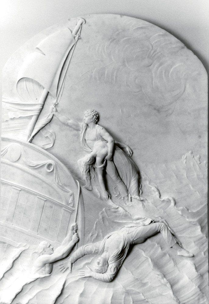 Victor gifted numerous artworks to the Gibbes, including the 1809 marble relief The Wreck of the Rose in Bloom by Belgian artist John Devaere and...