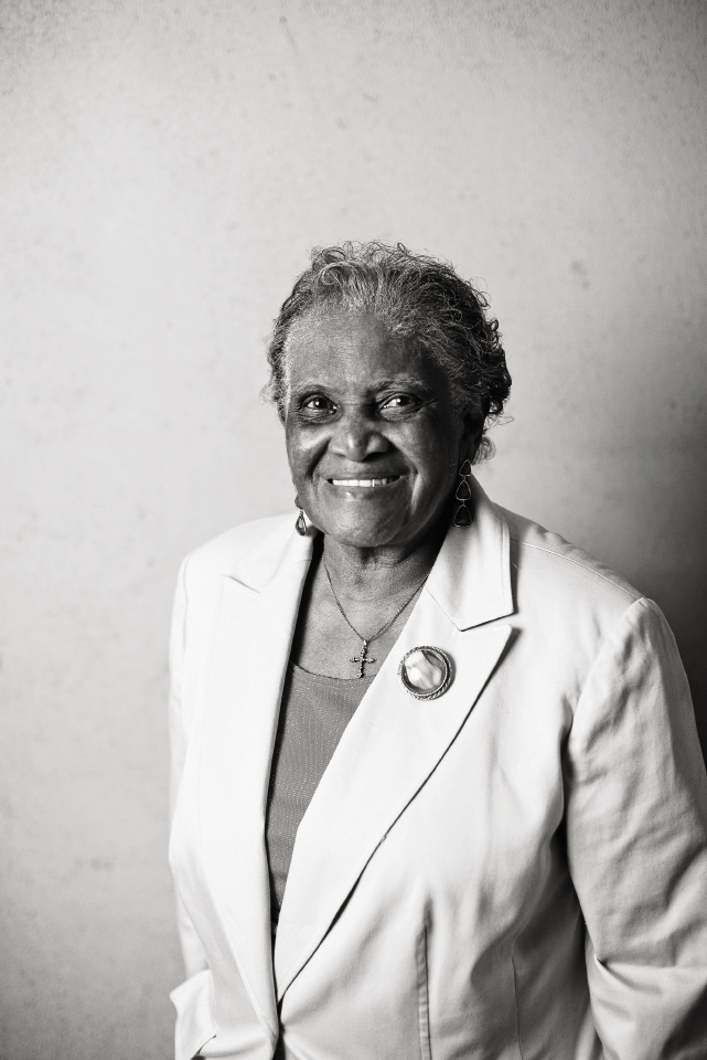 "Martha Lou Gadsden: chef-owner at Martha Lou's Kitchen Years in F&B: 60 plus Education: ""I learned by doing."""
