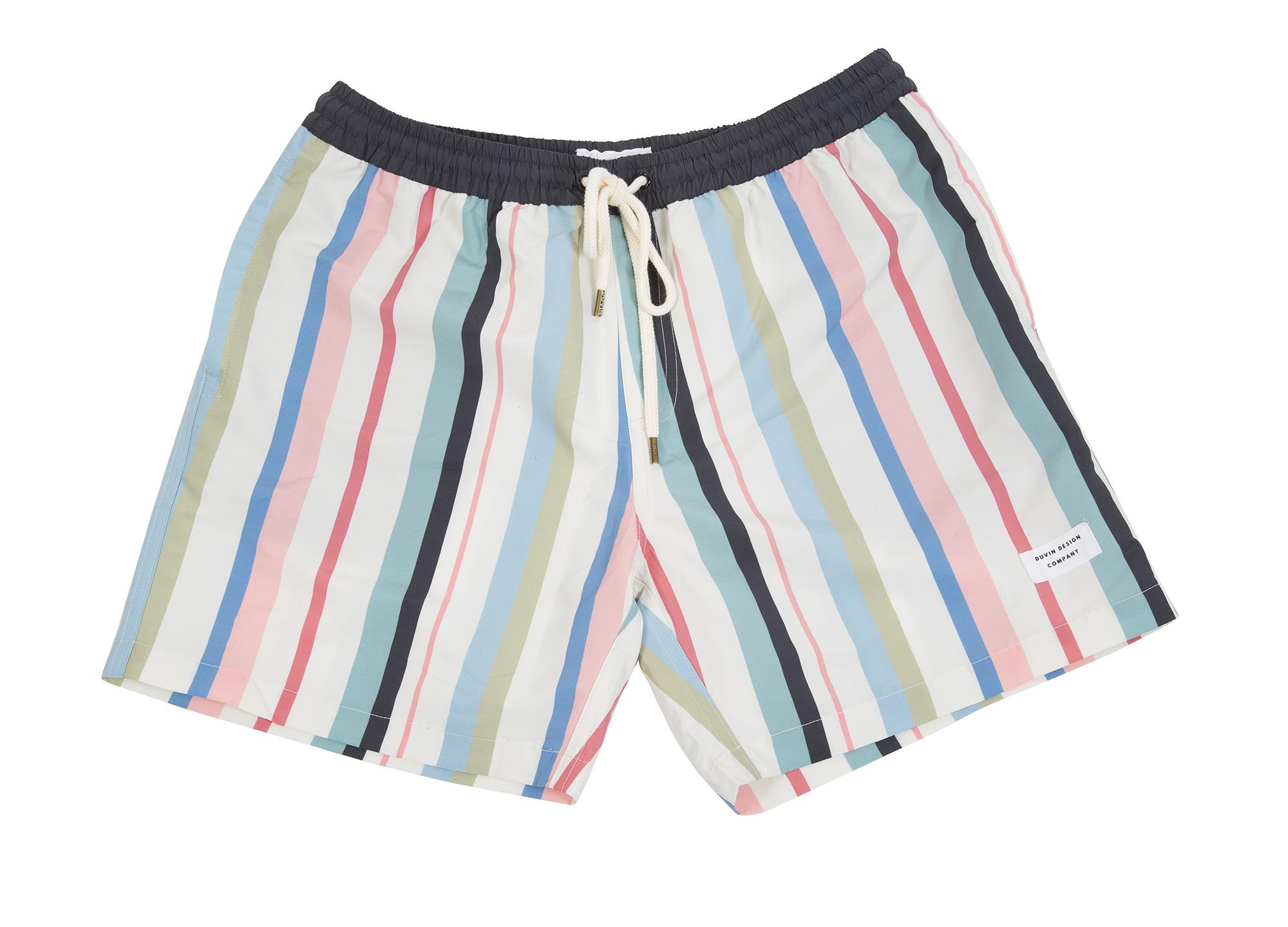 """Duvin Design Company """"Beach Club"""" in """"pastel stripe,"""" $66 at Las Olas"""
