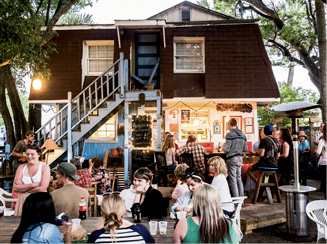 """Local Haunt: """"I take everyone to Chico Feo. It's like someone's backyard, with a ramshackle bar on a deck, tacos, and beer."""""""